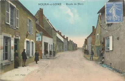 """.CPA FRANCE 41 """"Nouan sur Loire, Route de Blois"""""""