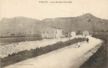 """CPA FRANCE 13 """"Trets, les Monts Olympe """""""