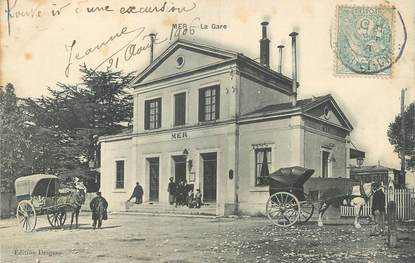 """.CPA FRANCE 41 """"Mer, La Gare"""""""