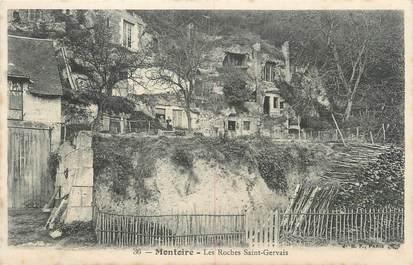 """.CPA FRANCE 41 """"Montoire, Les roches St Gervais"""""""