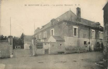 """.CPA FRANCE 41 """"Montoire, Le Quartier Marescot'"""