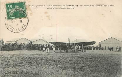 """.CPA FRANCE 41 """"Pont Levoy, Monoplan de Gibert"""""""