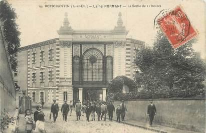 ".CPA FRANCE 41 ""Romarantin, Usine Normant"""