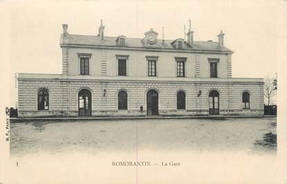 """.CPA FRANCE 41 """"Romarantin, La gare"""""""