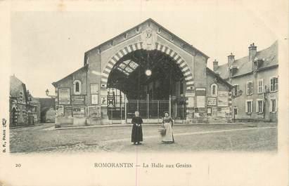 """.CPA FRANCE 41 """"Romarantin, La Halle aux grains"""""""
