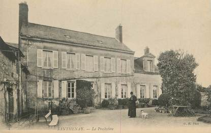 ".CPA  FRANCE 41 ""Santenay, Le presbytère"""