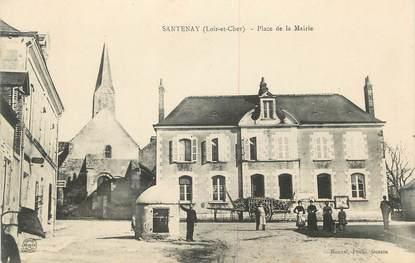 """.CPA  FRANCE 41 """"Santenay, Place de la Mairie"""""""