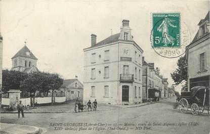 ".CPA  FRANCE 41 ""Saint Georges, Mairie"""