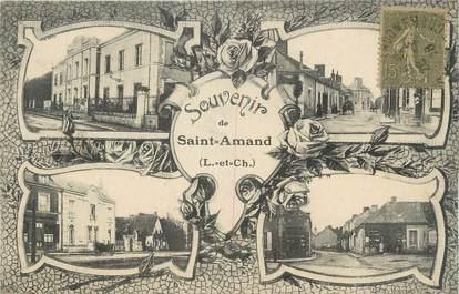 """.CPA  FRANCE 41 """"Saint  Amand, Souvenir de St Amand"""""""