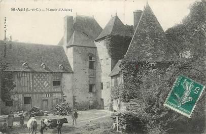 """.CPA  FRANCE 41 """"Saint  Agil, Manoir d'Alleray"""""""
