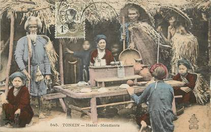 "CPA VIETNAM ""Tonkin, Hanoï, les mendiants"""