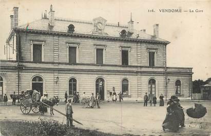 """.CPA  FRANCE 41 """"  Vendome,  La Gare """""""