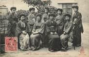 """Asie CPA VIETNAM """"Tonkin, Femmes japonaises habitant le Tonkin"""""""