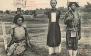 """Asie CPA VIETNAM """"Tonkin, chefs de bandes tués et capturés dans le Phuc Yen"""""""