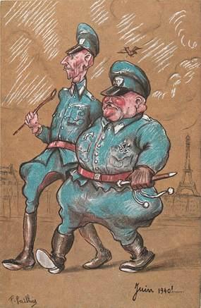 CPSM MILITAIRE / JUIN 1940 / ALLEMAGNE
