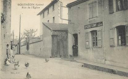 """.CPA FRANCE 42 """" Bouthéon, Rue de l'église"""""""