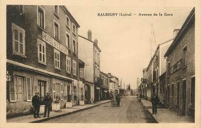 """.CPA FRANCE 42 """" Balbigny, Avenue de la Gare"""""""