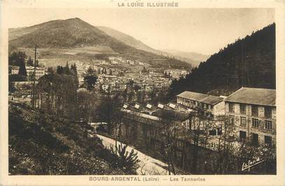 """.CPA FRANCE 42 """" Bourg Argental, Les tanneries"""""""