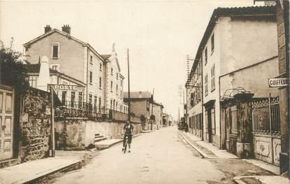 ".CPA FRANCE 42 ""Chavanay, Mairie, école et grande rue"""