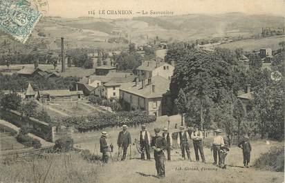 """.CPA FRANCE 42 """"Le Chambon, La Sauvanière"""""""