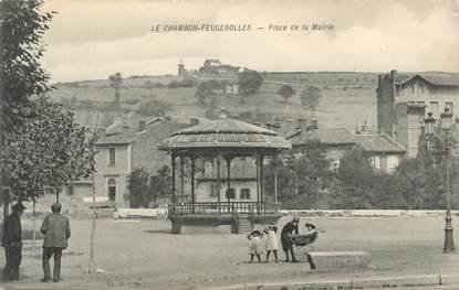 """.CPA FRANCE 42 """"Le Chambon Feugerolles, Place de la Mairie"""""""