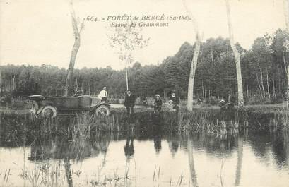 """.CPA FRANCE 72 """"Forêt de Bercé, Etang de Grammont"""""""