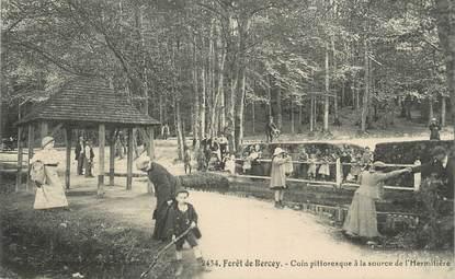 """.CPA FRANCE 72 """"Forêt de Bercey, Coin pittoresque à la source de l'Hermitière"""""""