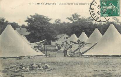""".CPA FRANCE 72 """"Auvours, Le camp"""""""