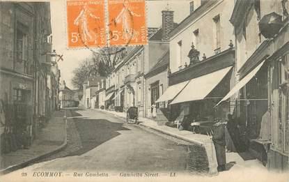 """.CPA FRANCE 72 """"Ecommoy, Rue Gambetta"""""""