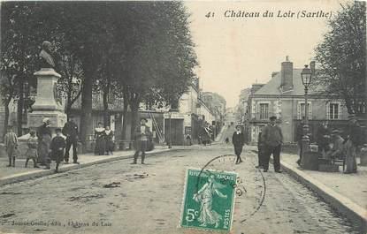 """.CPA FRANCE 72 """"Château du Loir"""""""