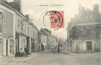 """.CPA FRANCE 72 """"Connerré, rue Faidherbe"""""""