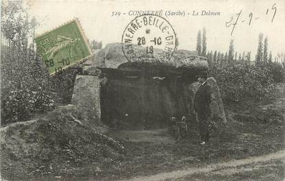 ".CPA FRANCE 72 ""Connerré, Le Dolmen""/DOLMEN"