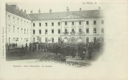 """.CPA FRANCE 72 """"La Flèche, Cour d'Austerlitz"""""""