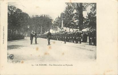 """.CPA FRANCE 72 """"La Flèche, Une décoration au Prytanée"""""""