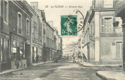 """.CPA FRANCE 72 """"La Flèche, Grande rue"""""""