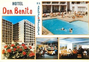 """CPSM ESPAGNE """"Hotel Don Benito, El Arenal, Mallorca"""""""