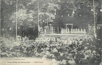""".CPA FRANCE 72 """"Le Mans, Exposition du Mans 1911"""""""