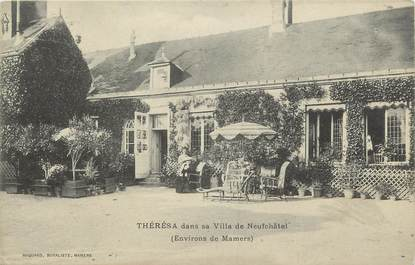 ".CPA FRANCE 72 ""Mamers, Villa de Neufchatel"""
