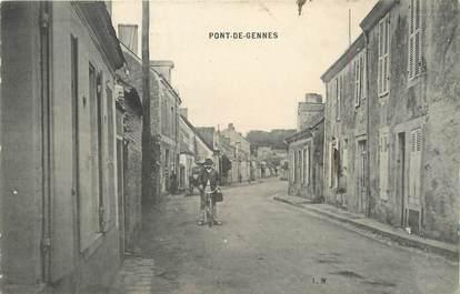 """.CPA FRANCE 72 """"Pont de Gennes"""""""