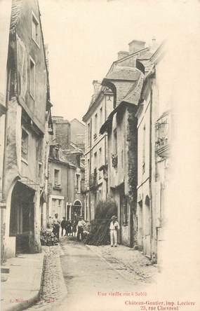 """.CPA FRANCE 72 """" Sablé sur Sarthe, Une vieille rue"""""""