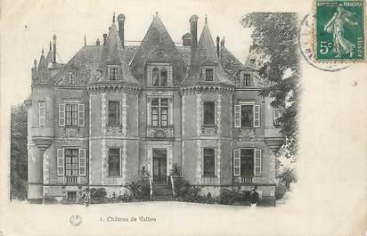 ".CPA FRANCE 72 "" Vallon, Le château"""