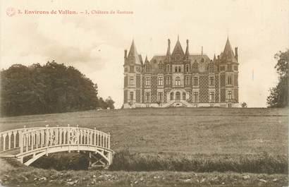 """.CPA FRANCE 72 """" Environs de Vallon, Château de Resteau"""""""