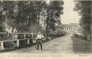 "77 Seine Et Marne CPA FRANCE 77  ""Egligny, Rte de Balloy"""