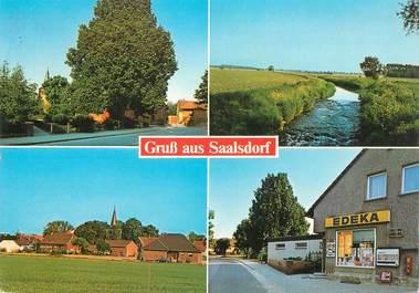 """CPSM ALLEMAGNE """"Gruss aus Saalsdorf"""""""