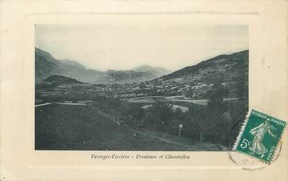 """.CPA  FRANCE 74 """" Faverges Verchère, Frontenex et Chambellon"""""""