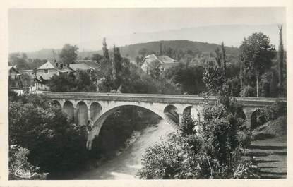 """.CPSM   FRANCE 74 """" Hauteville sur Fier, Le pont du Fier"""""""