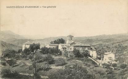"""CPA FRANCE 30 """"Sainte Cécile d'Andorge, vue générale"""""""