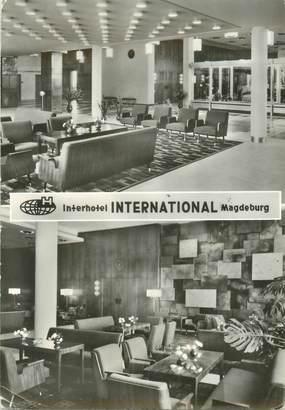 """CPSM ALLEMAGNE  """"Magdeburg, hotel international"""""""
