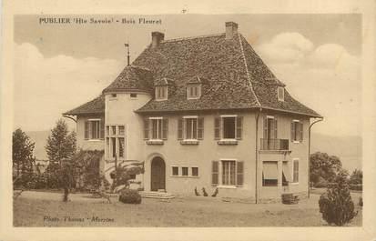 """.CPA  FRANCE 74 """" Publier, Bois Fleuret"""""""