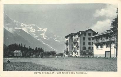""".CPA  FRANCE 74 """"Les Tines, Hôtel Excelsior"""""""